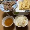 ベルギーチョコパイ  帯広豚丼 たけのこご飯 タケノコの天ぷら
