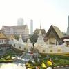 【バンコク観光】サパーンタクシン駅周辺~ワット・ヤンナワーとアイコンサイアム/Wat Yannawa&Iconsiam near Saphan Taksin Station in Bangkok, Thailand