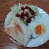 パンとレタスと卵焼き