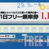 海浜公園入園券付湊線1日フリー乗車券