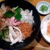 麺屋ひな多@埼玉県鴻巣市の『期間限定 帆立と赤えびのまぜそば』が帆立エビ追い飯美味い