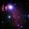 IC434 馬のシルエット、馬頭星雲 オリオン座