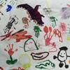 子供に大きな絵を描かせてみた☆子供の絵から分かる深層心理