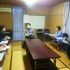 26日、福島大学の学生対策について小山教授と懇談。コロナで退学生を出さないため支援に奔走