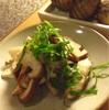 ✴︎覚え書き:椎茸のお浸し(レモン胡麻青紫蘇)、南瓜煮のレモン薔薇風味。(おまけ)鯖をメキシコ風に乳製品と唐辛子で食した夕べ