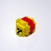 【アイロンビーズ3D】ディズニーツムツムより、くまのプーさん