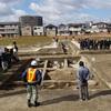東弓削遺跡(由義寺跡)発掘調査現地説明会 へ