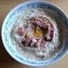 料理研究家リュウジさんの「濃厚チキンラーメンカルボナーラ」を作ってみた【熟女の日常】