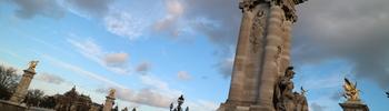 【豪華絢爛!セーヌ河散策】アレクサンドル3世橋とグラン・パレ