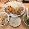 【手抜きすぎる食レポ】ぎょうざの満洲のから揚げ定食を採点してみた!
