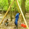 GWキャンプ その3 掘り方開始~7m付近まで順調に掘り進める