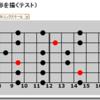 HTML5のCanvasを利用してギターのスケールを表示(完成)