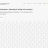 デザインの国際会議、4D-Conferenceが大阪で開催