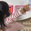 3歳の娘、アクアビーズにハマる。