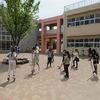 大放課:竹馬と一輪車