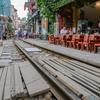 【再熱⁉】しれっと復活、トレインストリート! in Hanoi