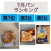 7月のパンランキング!!