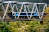第四穴内川橋梁 2000系流し撮り