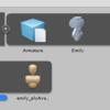 MagicaVoxel→Blender→Unityでボクセルモデルを動かす 改③(終)