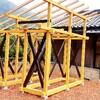 薪小屋の建築①