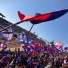甲府の2018クラブサポーター会員の更新しました