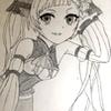 またアナログで絵を描きました。