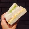 ルノアールのモーニングSセットのボリューム満点サンドイッチ!(2018年1月時点)