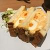 俺のBakery&Cafe@銀座 高級食パンを使ったたまごサンド♪