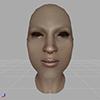 【Skyrim】プレイヤキャラとNPCにおける顔構造の違い(メッシュ編)