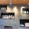 【カフェ】DNPプラザ 活版印刷に使われる金属活字の壁が美しいカフェに行ってみた [市ヶ谷]