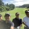 今日は、久しぶりの晴天の中でのゴルフでした!