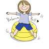 バランスボールで腹筋強化!体幹トレーニングを紹介!効果抜群動画