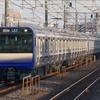 1月3日撮影 冬の青春18きっぷを使っての撮影旅 横須賀線、総武快速線の新鋭 E235系1000番台を再び撮影する