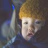 写真の話、イルミネーションと子供