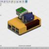Fusion360でRaspberry PiのケースとPiカメラの回転アタッチメントをモデリングしてみた