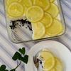 超簡単!!!少ない材料で混ぜるだけ~ とろけるレモンレアチーズケーキ