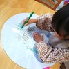 11月12月のワークショップはサンタさんの塗り絵バルーン