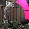 ≪自転車雨よけカバー≫スイス製dryveか?それとも大阪産コロポックルか?③ハンドルの切れ角