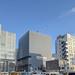 仙台南町通り、「ミレーネT仙台ビル」の建設状況(2021年3月)