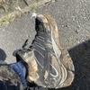 滑るので有名なMERRELL MOAB2は雪解けの泥道でどのくらい粘れるか?