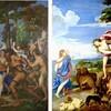 ティツィアーノ「バッカスとアリアドネ」=蛇の人間制御