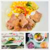 『学校給食で長崎和牛リブロースサーロインステーキ』