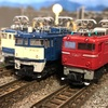 Bトレ機関車のステップとスノープラウ