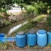 明日のみどり川クリーン作戦のEM浄化準備完了。