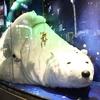 冬の銀座のショーウィンドウで、たまらなく可愛いシロクマを見た話