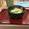 天ぷらそば。