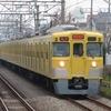 《西武》まだまだ黄色が主流の新宿線の車両