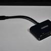 USB Type-CからHDMIとVGAの画面出力できるアダプターは必携です【CHOETECH Type C to VGA HDMIコンバータアダプタ】