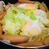 ずぼら飯【1食66円】キャベツ焼きウインナーエッグの作り方