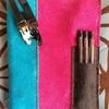 自作の革製手帳カバーはおよそ4時間で完成